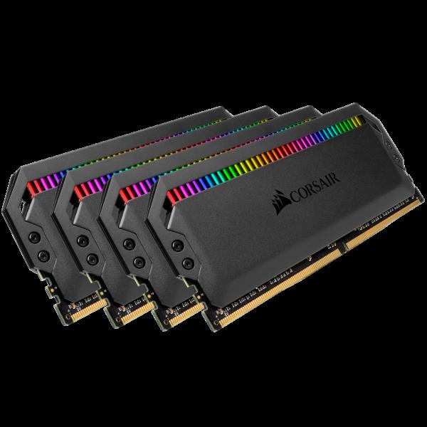 Corsair Dominator Platinum RGB 32GB (4x8GB) / 4000MHz / DDR4 / C19 / CMT32GX4M4K4000C19 (Fyndvara -