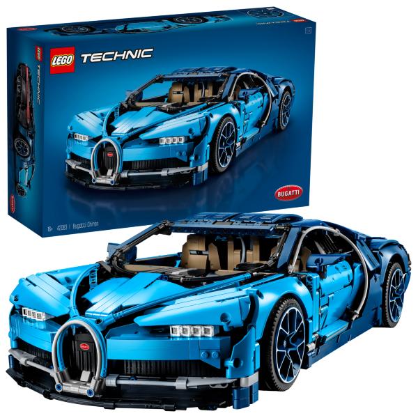 LEGO Technic Bugatti Chiron 42083 (Fyndvara - Kartongskada)