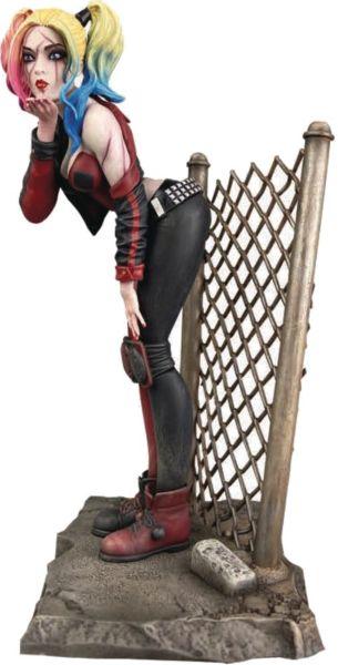 Diamond Select Gallery: DCeased - Harley Quinn 20cm Statue