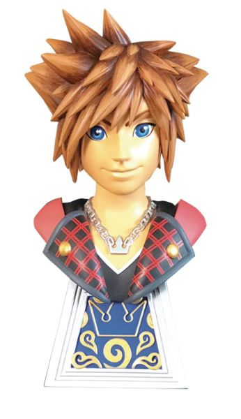 Diamond Select: Legends in 3D - Kingdom Hearts 3: Sora 1/2 Scale Bust