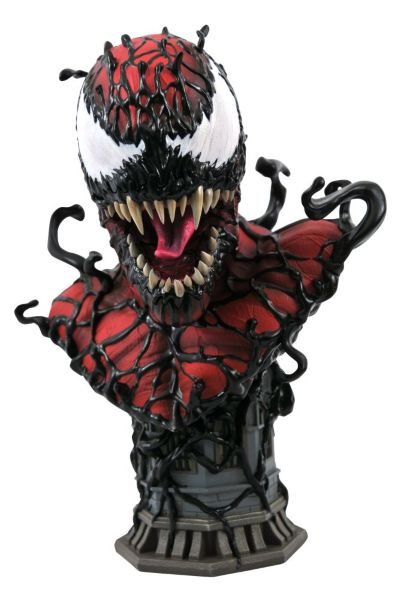 Diamond Select: Legends in 3D - Marvel: Carnage 1/2 Scale Bust
