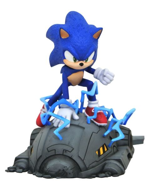 Diamond Select: Sonic Movie - Sonic 1/6 Scale 13cm Statue