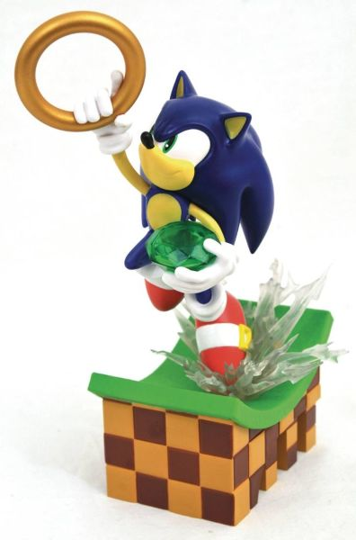 Diamond Select: Sonic The Hedgehog - Sonic PVC Statue