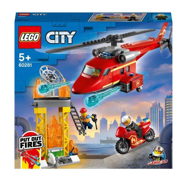 LEGO City Fire Brandräddningshelikopter 60281
