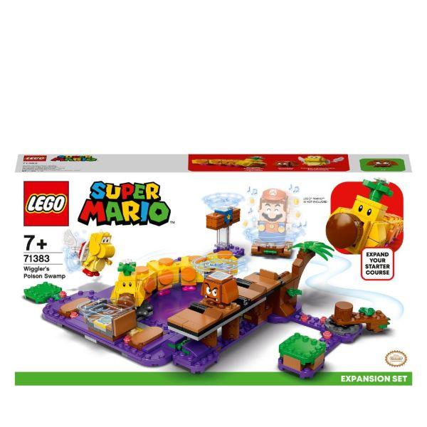 LEGO Super Mario Wigglers giftiga träsk - Expansionset 71383