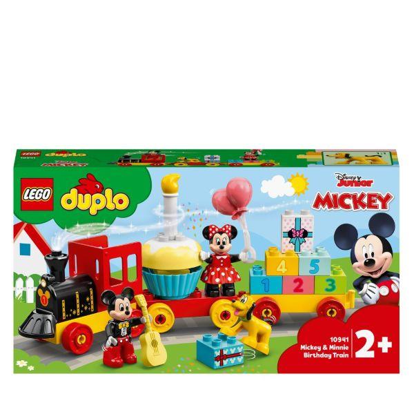 LEGO DUPLO Disney Musse och Mimmis födelsedagståg 10941