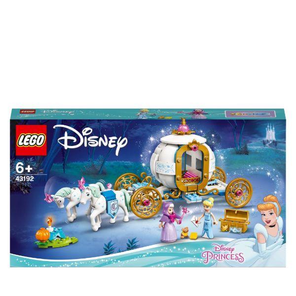 LEGO Disney Princess Askungens kungliga vagn 43192