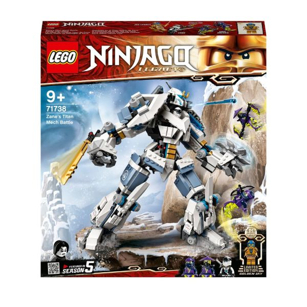 LEGO Ninjago Zanes titanrobotstrid 71738