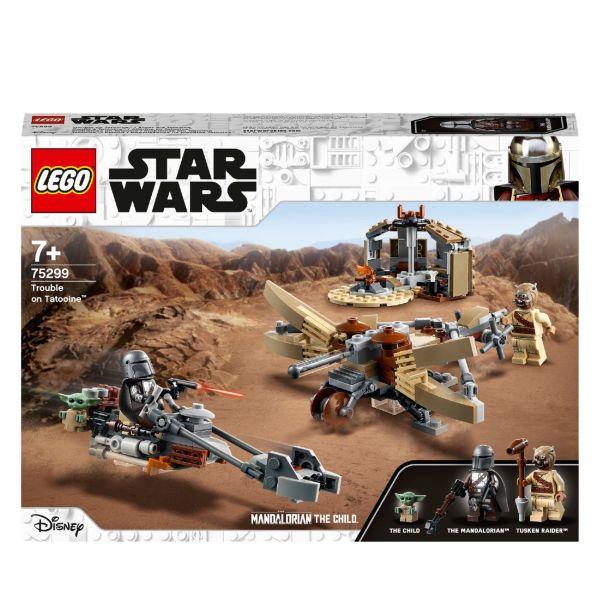 LEGO Star Wars The Mandalorian Trouble on Tatooine 75299