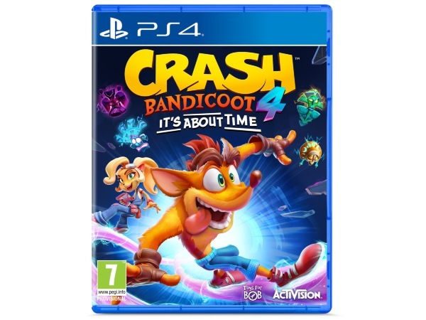 Crash Bandicoot 4: It's About Time (Kartongskada)