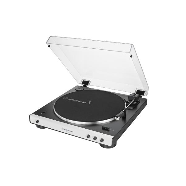 Audio Technica AT-LP60X Skivspelare med bluetooth - Vit