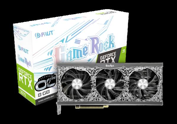 Palit GeForce RTX 3070 GameRock OC 8G