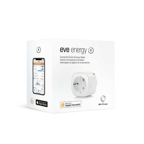Eve Energy 2020- Smart Plug & Energimätare fungerar med Apple HomeKit (Fyndvara - Klass 1)