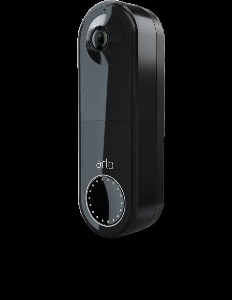 Arlo Essential Wire-free Video Doorbell Svart