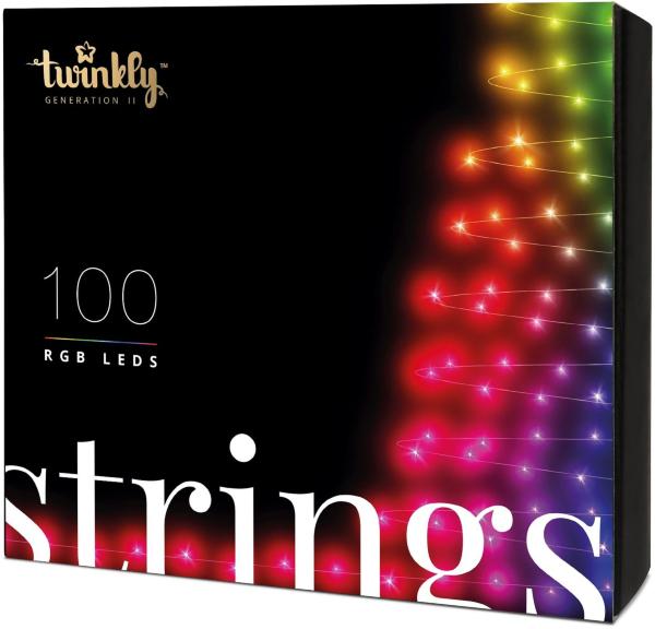 Twinkly 100 rgb led light string - generation ii