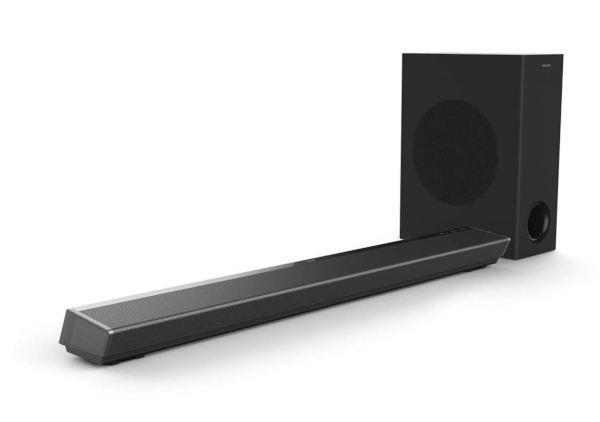 Philips 2020 TAPB603 Soundbar / Dolby Atmos / Trådlös Subwoofer (Fyndvara - Klass 2)