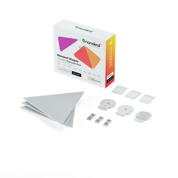 Nanoleaf Shapes Triangles Expansion Pack - 3 Paneler (Fyndvara - Klass 1)