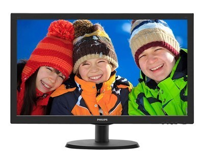"Philips 223V5LHSB2 / 21.5"" / 5ms / HDMI,VGA / VESA (Kartongskada)"
