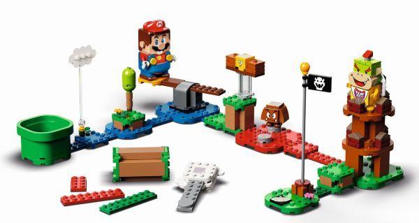LEGO Super Mario Äventyr med Mario - Startbana 71360(Kartongskada)