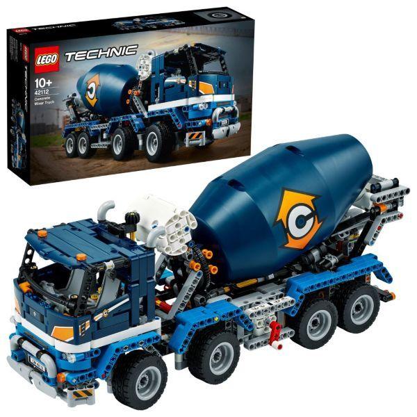 LEGO Technic Betongblandare 42112 (Kartongskada)