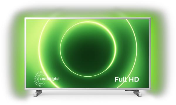 "Philips 2020 32"" 32PFS6905 - Ambilight / Full-HD / Smart TV - Silver(Kartongskada)"