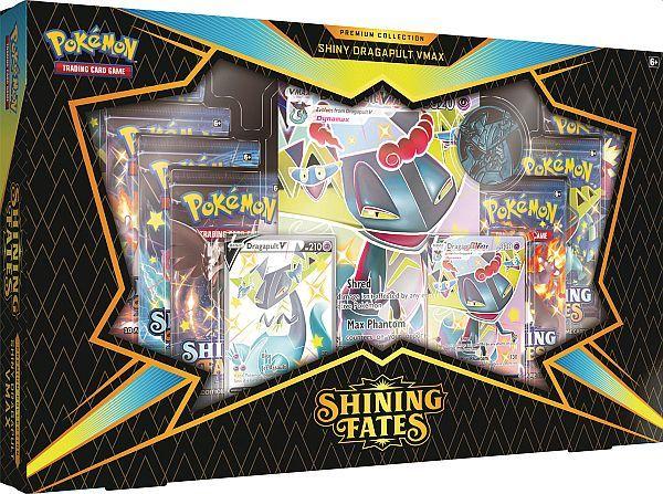 Pokemon Sword & Shield 4.5: Shining Fates Shiny Dragapult Premium V MAX Box
