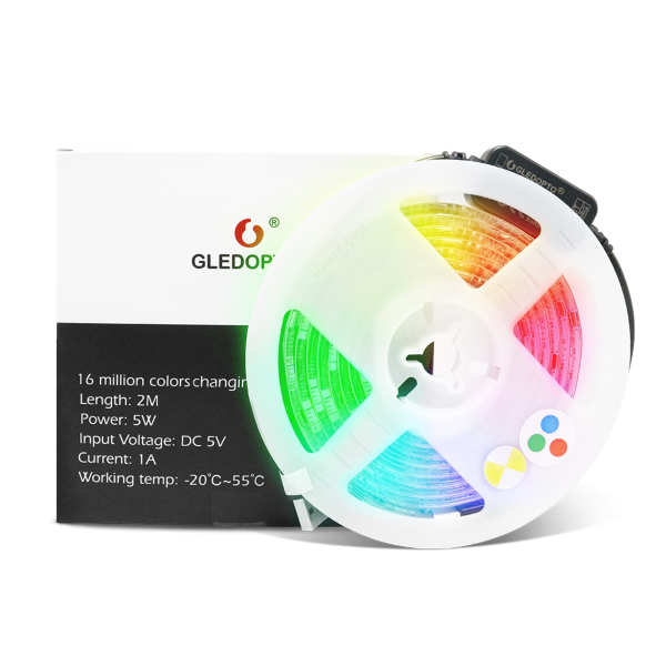 GLEDOPTO RGB+CCT LED-list / IP20 - 2 meter