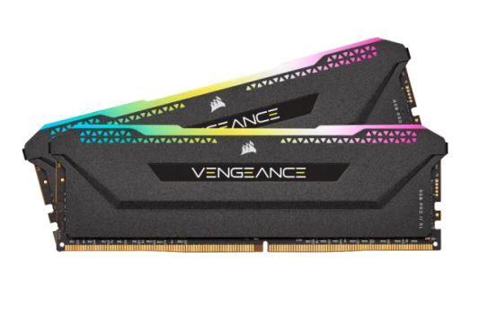 Corsair Vengeance RGB PRO SL 32GB (2x16GB) / 3200MHz / DDR4 / CL16 / CMH32GX4M2E3200C16
