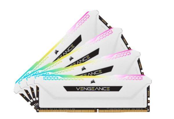 Corsair Vengeance RGB PRO SL 32GB (4x8GB) / 3200MHz / DDR4 / CL16 / CMH32GX4M4E3200C16W