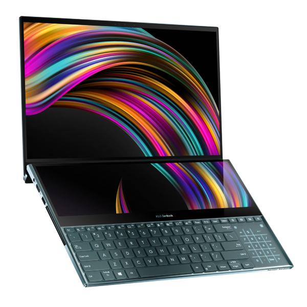 "ASUS ZenBook Pro Duo UX581LV 15.6"" / 4K/OLED/Touch/i9-10980HK/32GB/1TB/RTX 2060 (Fyndvara - Klass 1)"