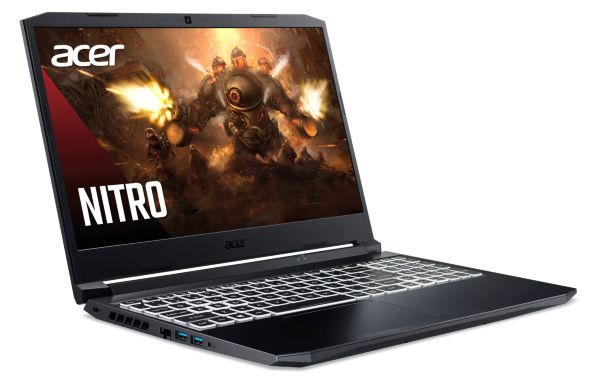 "Acer Nitro 5 / 15.6"" / FHD / IPS / 144Hz / R7 5800H / 16GB / 512GB +1TB / RTX 3070 / Win 10"