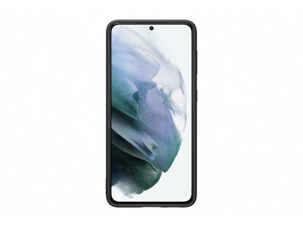 Samsung Galaxy S21 / Silicone Cover - Svart