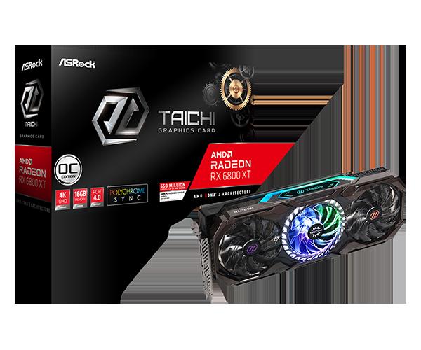 AsRock Radeon RX 6800 XT 16GB Taichi X OC