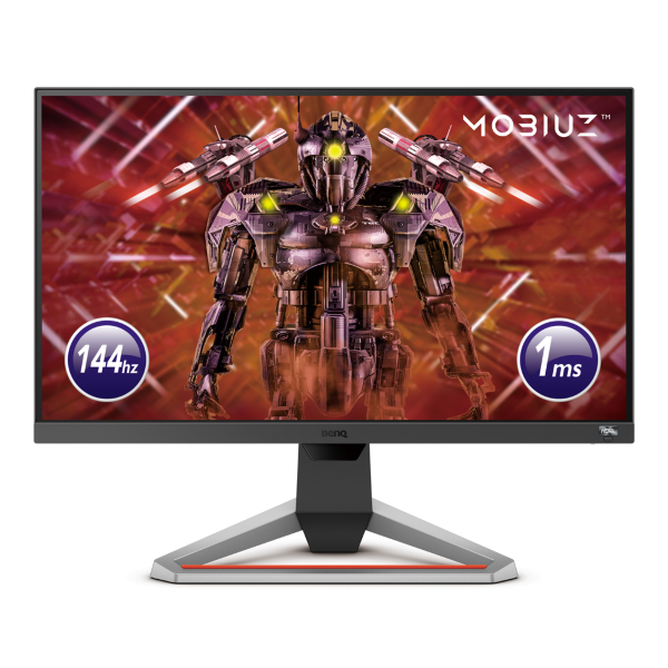 "BenQ Mobiuz EX2510 / 24.5"" / 1080p / 1ms / 144Hz / DP,2xHDMI / Freesync (Fyndvara - Klass 1)"