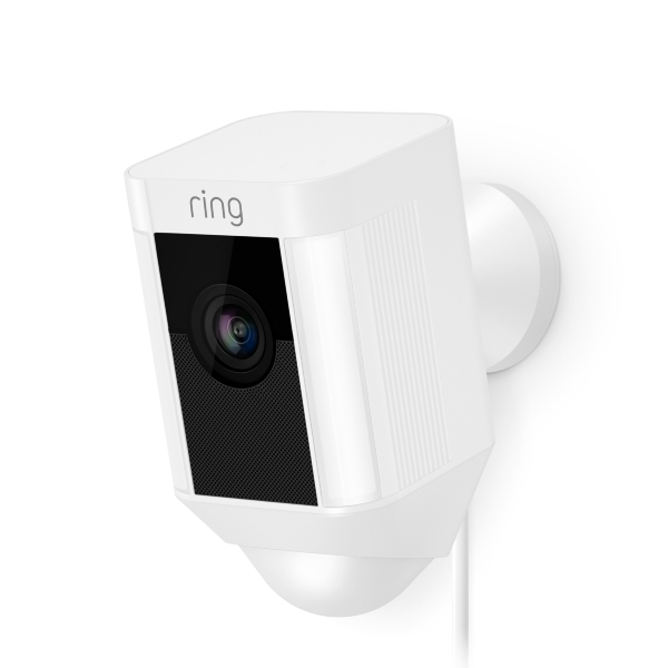 Ring Spotlight Cam Wired - White (Fyndvara - Klass 1)