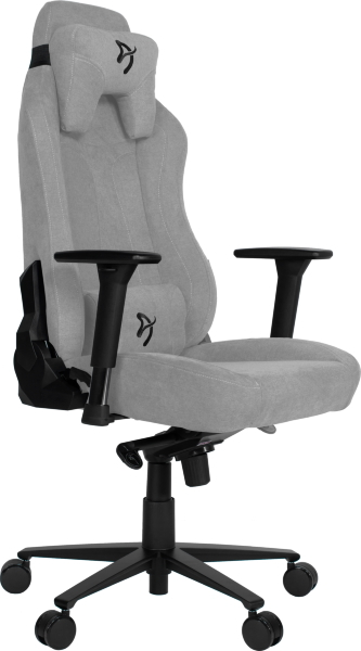 Arozzi Vernazza Gaming Chair Soft Fabric - Light Grey(Kartongskada)