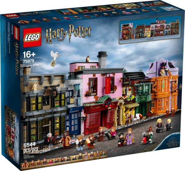 LEGO Harry Potter Diagongränden 75978