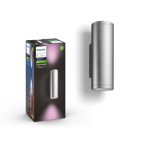 Philips Hue Appear Lantern / Utomhusbruk - Silver