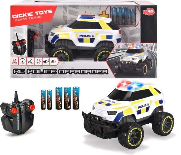 Dickie Toys Radiostyrd Offroad Polisbil