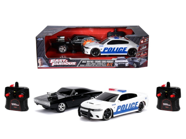 Jada Toys 2-pack Fast & Furious  Radiotyrda Bilar
