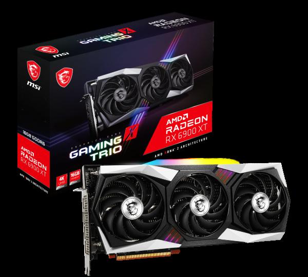 MSI Radeon RX 6900 XT Gaming X Trio 16GB