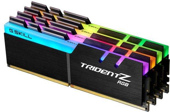 G.Skill Trident Z 64GB (4x16GB) 3600MHz / DDR4 / CL14 / RGB (Fyndvara - Klass 1)