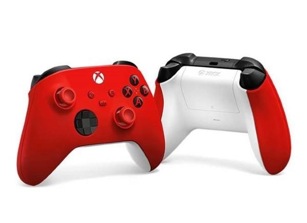 Xbox Handkontroll Röd/Vit (XBSX/XBO)