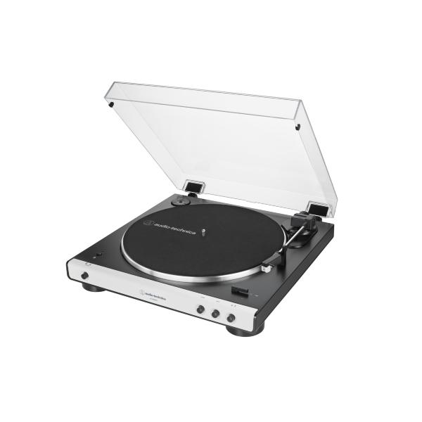 Audio Technica AT-LP60X Skivspelare med bluetooth - Vit (Fyndvara - Klass 1)
