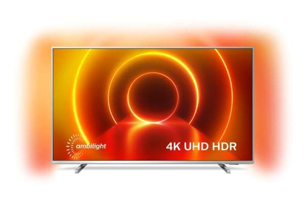 """Philips 2020 70"""" LED-TV 70PUS8105 - 4K UHD / Ambilight / Dolby Vision & Atmos / Smart / HDR(Kartongs"""