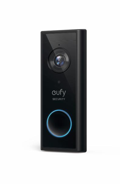 Eufy Video Doorbell 2K Add on - Svart (Fyndvara - Klass 1)