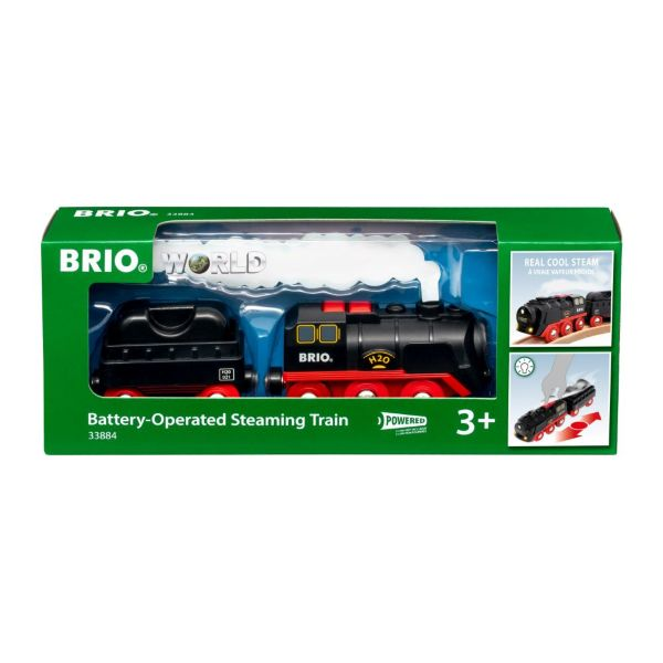 BRIO Battery-Operated Steaming Train