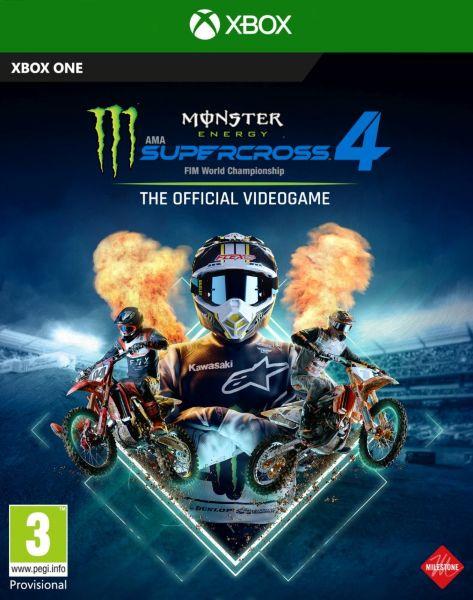 Monster Energy Supercross 4 (XBO)