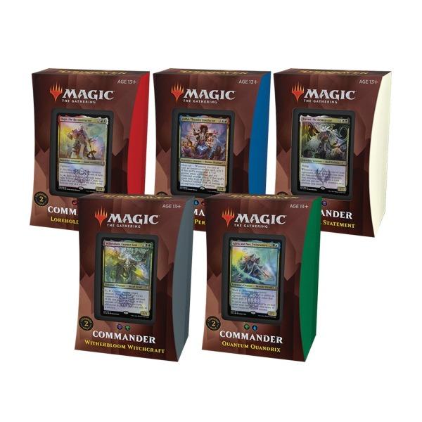 Magic the Gathering: Strixhaven Commander Deck Set (5 st)