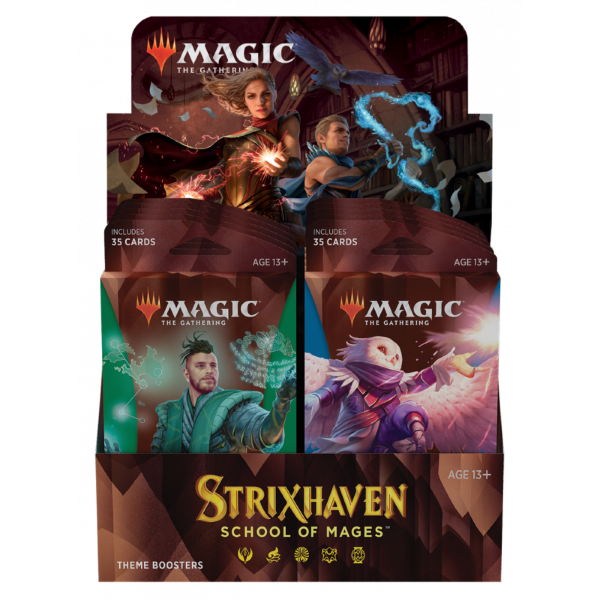 Magic the Gathering: Strixhaven Theme Display (10 boosters)
